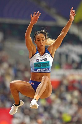 Katarina Johnson-Thompson Heptathlon Long Jump World Athletics 2019