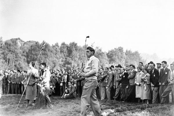Harry Weetman Ryder Cup Wentworth 1953