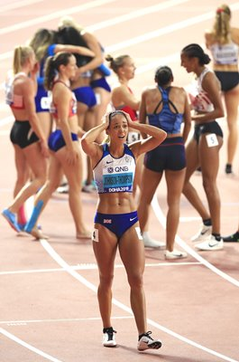 Katarina Johnson-Thompson GB Heptathlon World Heptathlon Gold 2019