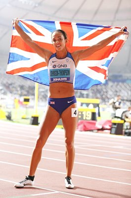 Katarina Johnson-Thompson GB Heptathlon World Heptathlon Champion 2019