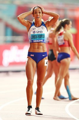 Katarina Johnson-Thompson GB Heptathlon World Champion 2019