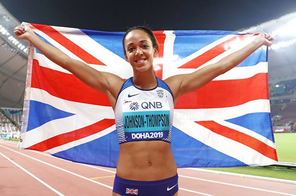 Katarina Johnson-Thompson Great Britain Heptathlon Gold World Athletics 2019