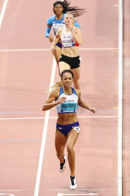 Katarina Johnson-Thompson Great Britain Heptathlon 800m World Athletics 2019