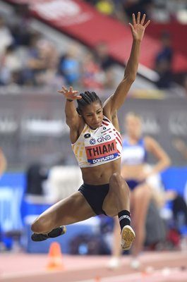 Nafissatou Thiam Belgium Heptathlon Long Jump World Athletics 2019