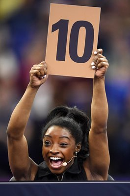 Simone Biles USA Perfect 10 Superstars of Gymnastics London 2019