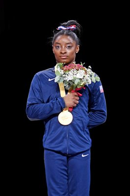 Simone Biles USA World Gymnastics Champion Stuttgart 2019