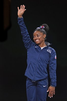 Simone Biles USA Gymnastics World Champion Stuttgart 2019
