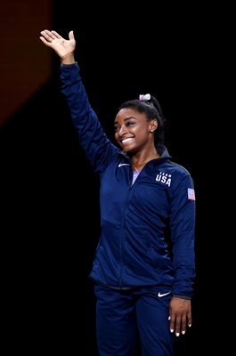 Simone Biles USA Beam Champion World Gymnastics Stuttgart 2019