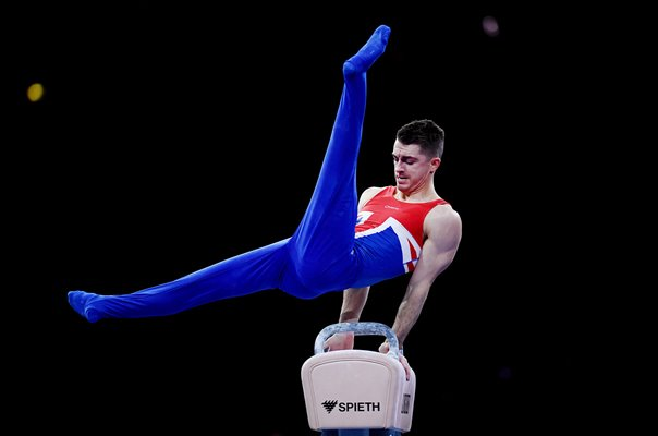 Max Whitlock Great Britain Pommel Horse Gymnastics Worlds 2019