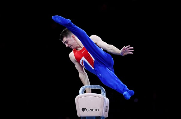 Max Whitlock Great Britain Pommel Horse Gymnastics World Champion 2019