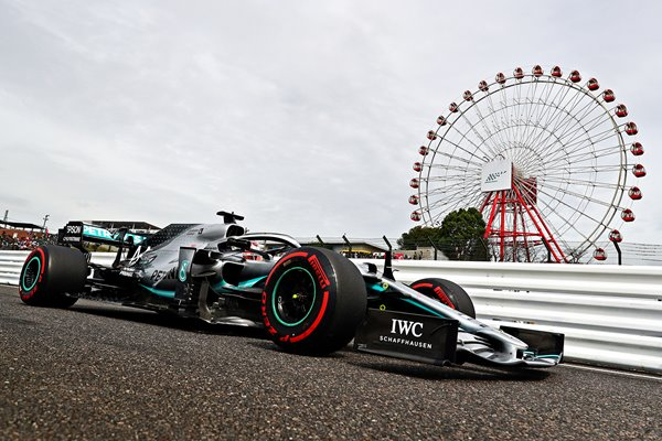 Lewis Hamilton Pitlane F1 Grand Prix of Japan2019