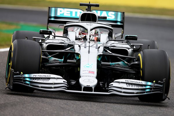 Lewis Hamilton Mercedes F1 Grand Prix of Japan 2019