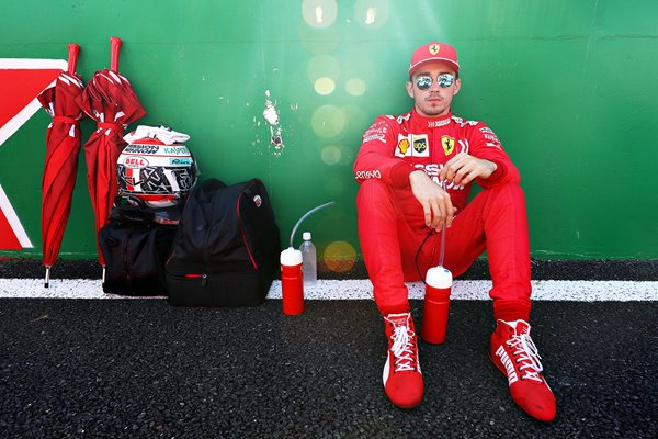 Charles Leclerc Ferrari F1 Grand Prix of Japan 2019