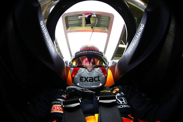 Max Vertsappen Cockpit F1 Mexican GP 2019