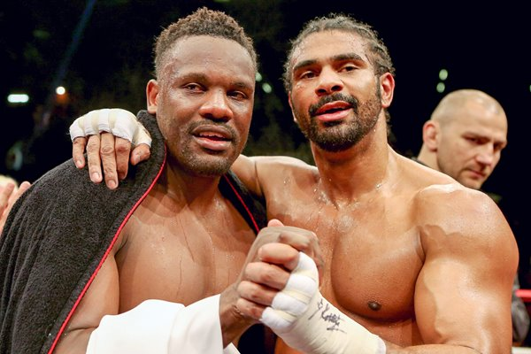 David Haye and Dereck Chisora 2012