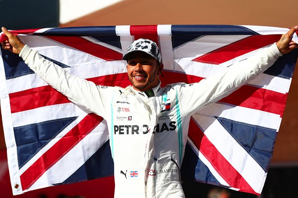 Lewis Hamilton World Champion USA Grand Prix 2019