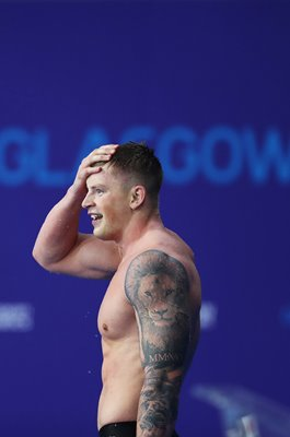Adam Peaty Great Britain Breaststroke European Swimming Glasgow 2018