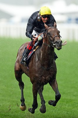 Frankie Dettori & Crystal Ocean Prince of Wales Stakes Royal Ascot 2019