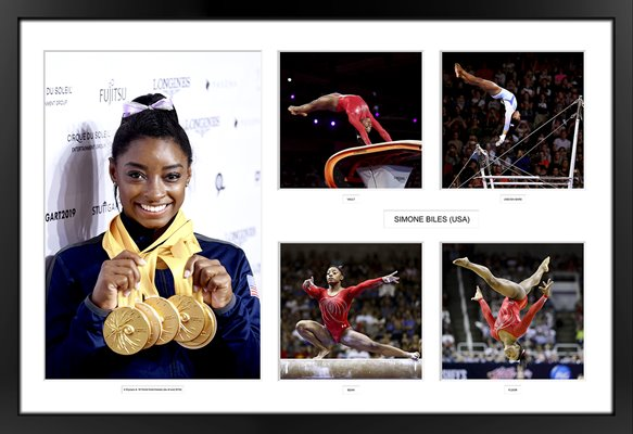 Simone Biles USA Gymnastics Golden Girl Special