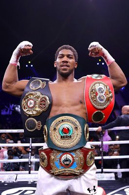 Anthony Joshua Great Britain 2 time World Heavyweight Champion 2019
