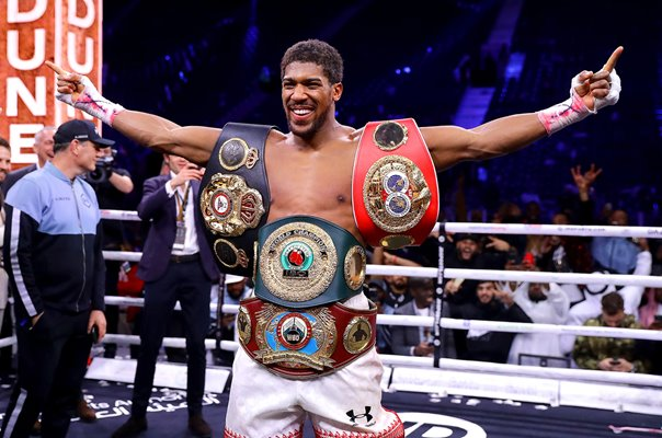 Anthony Joshua regains IBF, WBA, WBO & IBO World Heavyweight Titles