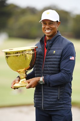 Tiger Woods USA Presidents Cup Winner Captain Royal Melbourne 2019