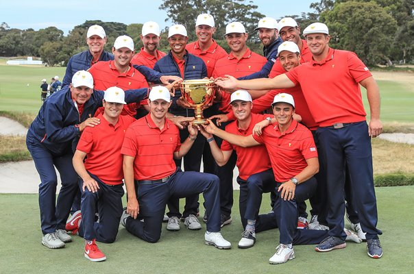 USA Presidents Cup Winners Royal Melbourne 2019