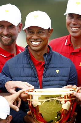Tiger Woods USA Winning Captain 2019 Presidents Cup