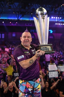 Peter Wright Scotland PDC World Darts Champion 2020
