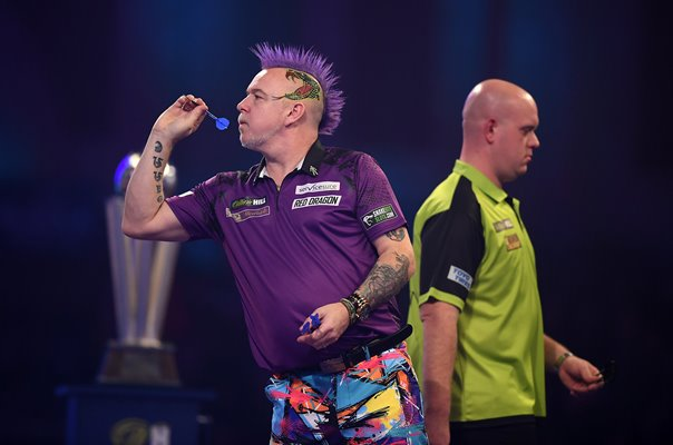 Peter Wright v Michael Van Gerwen World Darts Final 2020