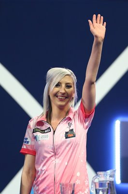 Fallon Sherrock England World Darts Championship London 2020