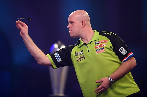 Michael Van Gerwen World Darts Championship Final 2020