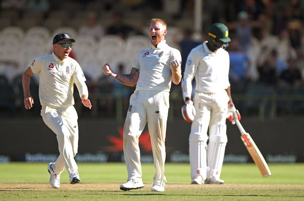 Ben Stokes England seals win v South Africa Cape Town 2020