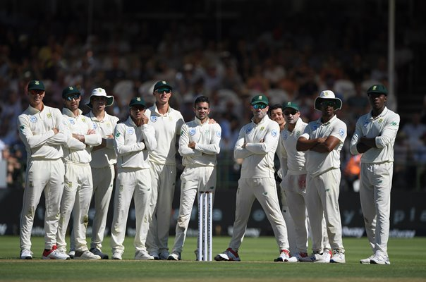 South Africa Team v England Cape Town Test Newlands 2020