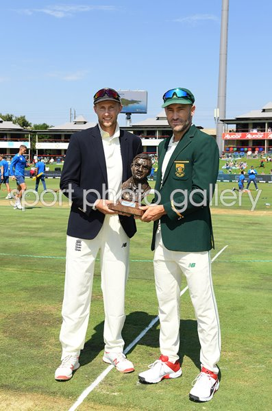 Captains Joe Root England & Faf du Plessis South Africa Centurion 2019