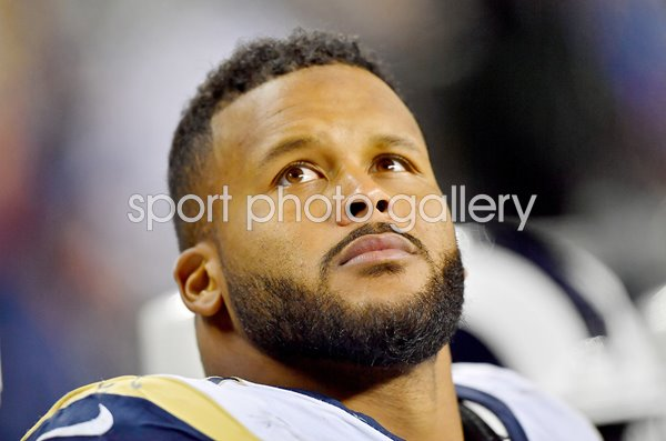 Aaron Donald Los Angles Rams v Seahawks Seattle 2019