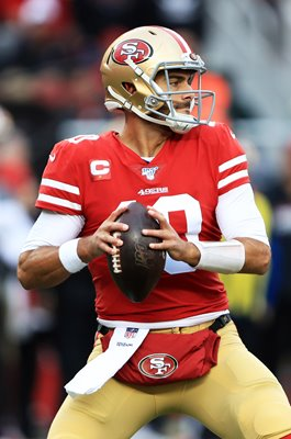 Jimmy Garoppolo San Francisco QB v Packers NFC Championship 2020