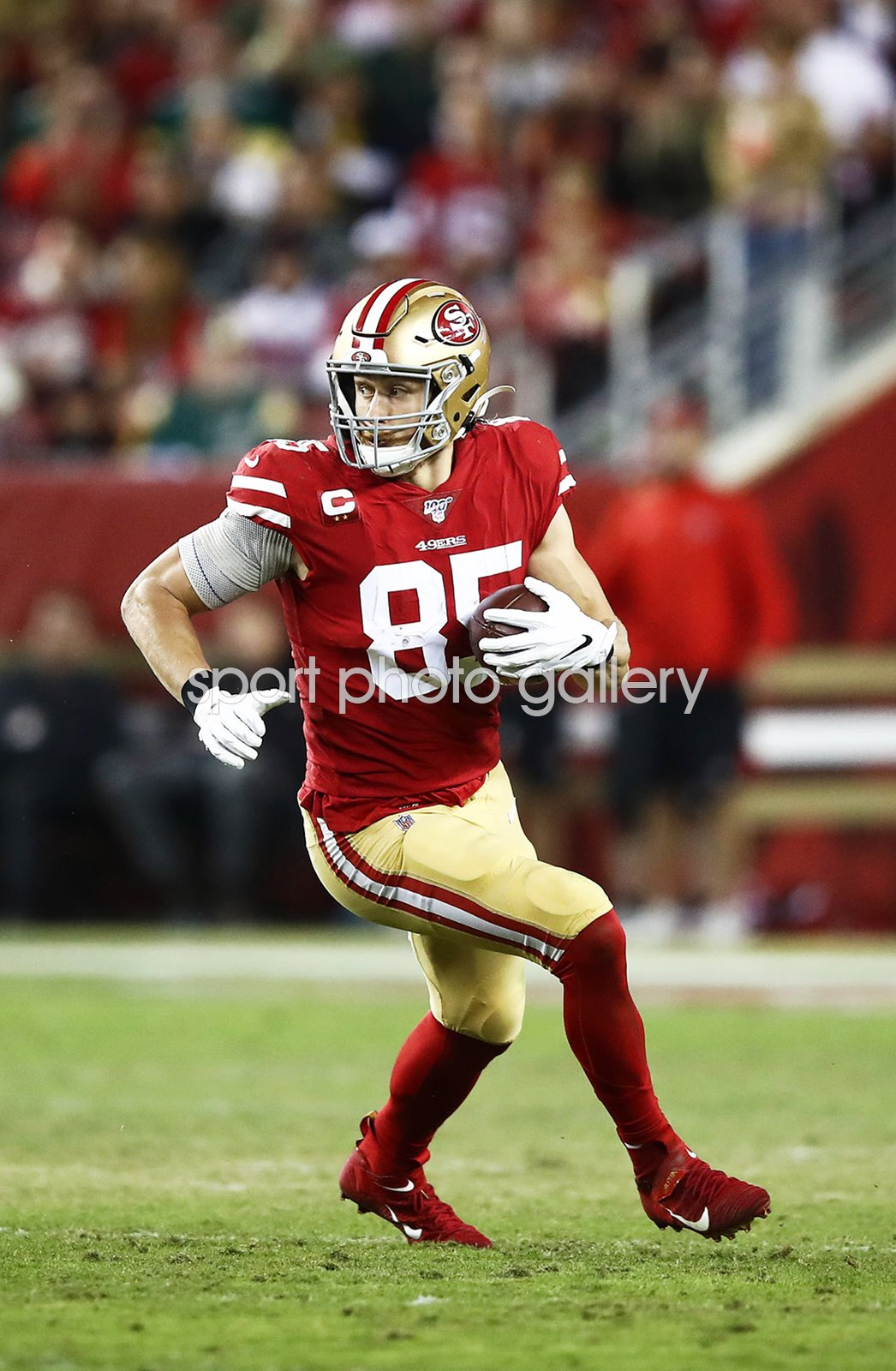 George Kittle San Francisco 49ers Tight End v Green Bay 2019