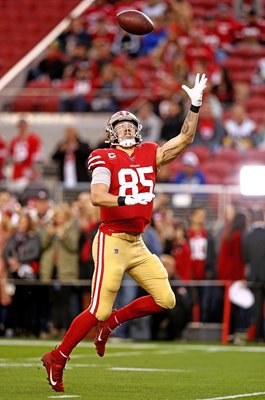 George Kittle San Francisco 49ers Tight End v Rams 2019