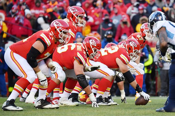 Patrick Mahomes Kansas City Chiefs v Tennessee Arrowhead Stadium 2020