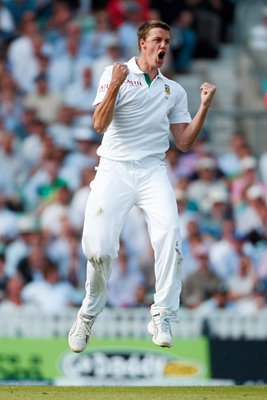 Morne Morkel South Africa celebrates 2012