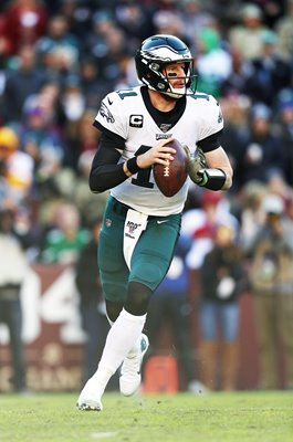 Carson Wentz Philadelphia Eagles QB v Washington Redskins 2019