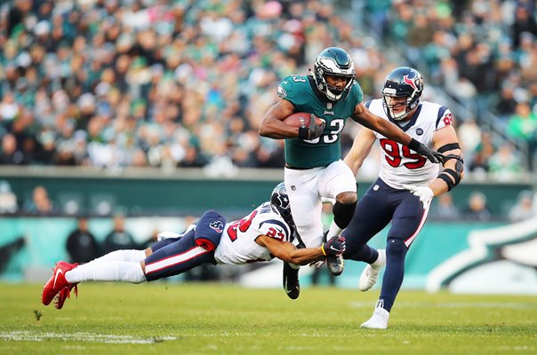 Aaron Colvin Houston Texans tackles Josh Adams Philadelphia Eagles 2019