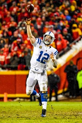 Andrew Luck Indianapolis Colts quarterback v Kansas City Chiefs 2019