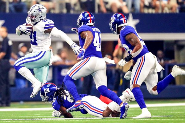 Running back Ezekiel Elliott New York Giants v Dallas Cowboys 2019