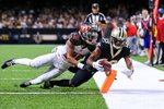 Michael Thomas New Orleans Saints Touchdown v Tampa Bay 2019 Canvas