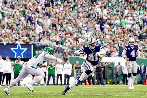 Ezekiel Elliott Dallas Cowboys v New York Jets 2019