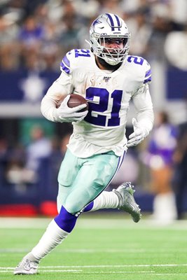 Ezekiel Elliott Dallas Cowboys Running Back v Philadelphia Eagles 2019