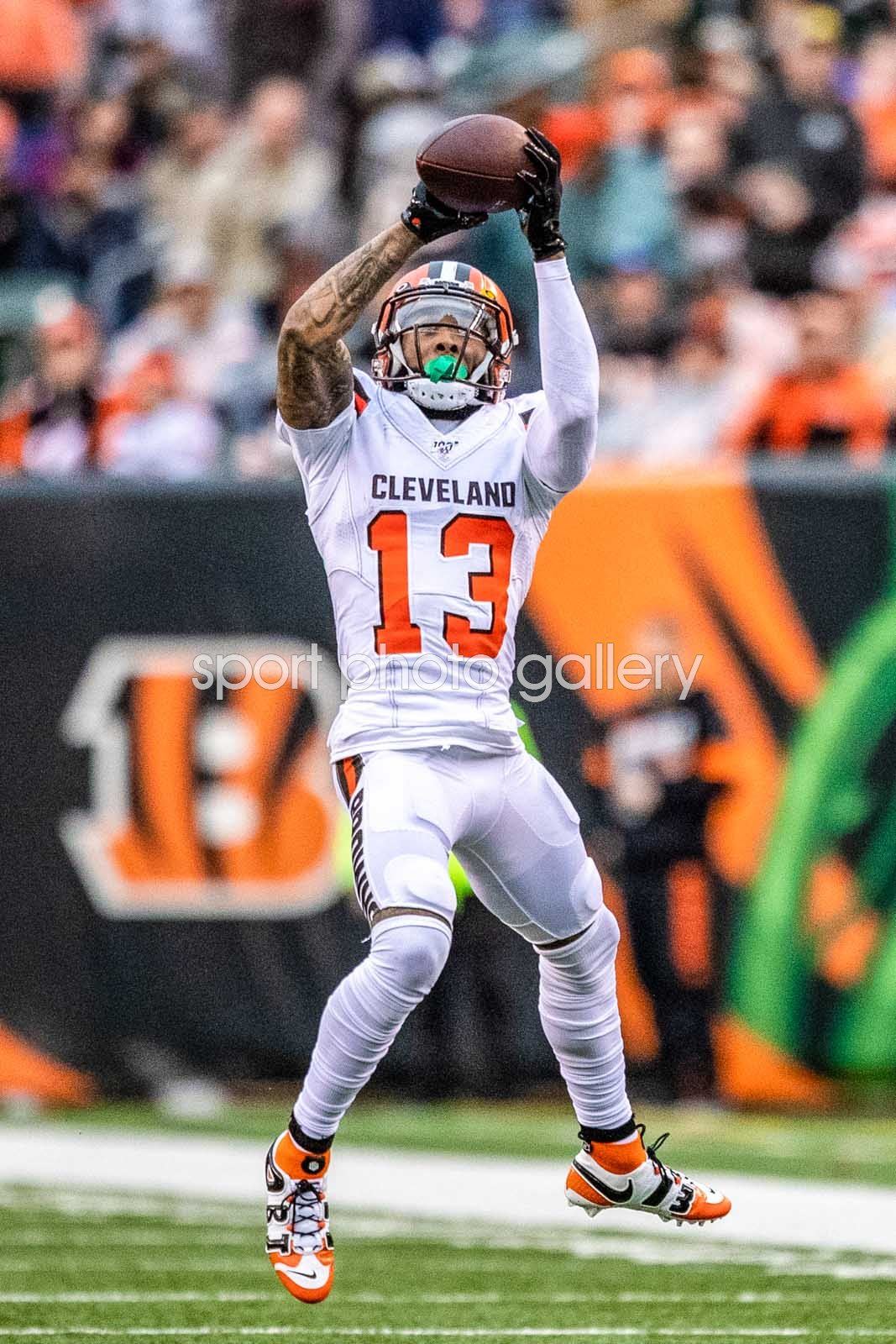Odell Beckham Jr Cleveland Browns Catch v Cincinnati Bengals 2019