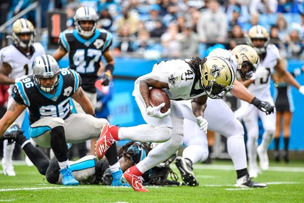 Alvin Kamara New Orleans Saints v Carolina Panthers Charlotte 2019